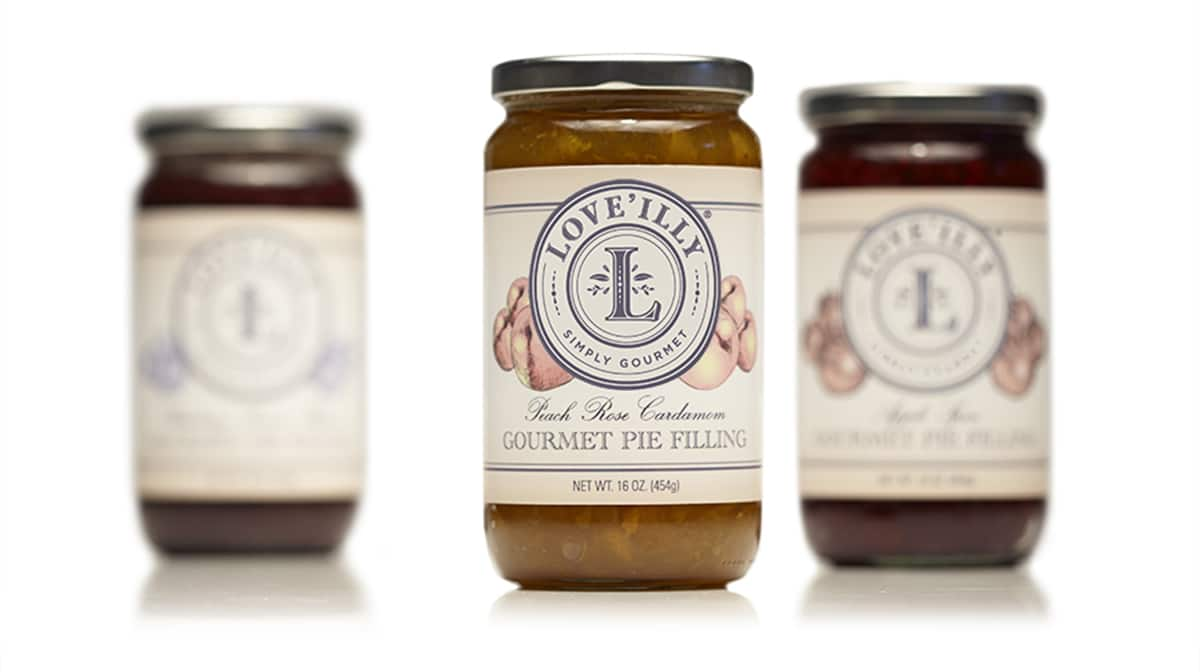 loveilly gourmet pie filling