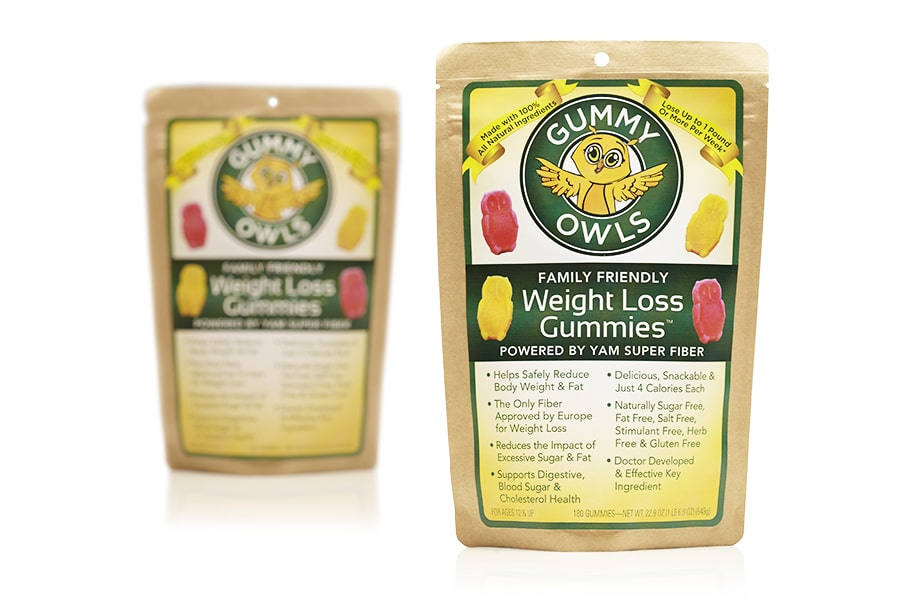 gourmet-weight-loss-gummy-packaging-design