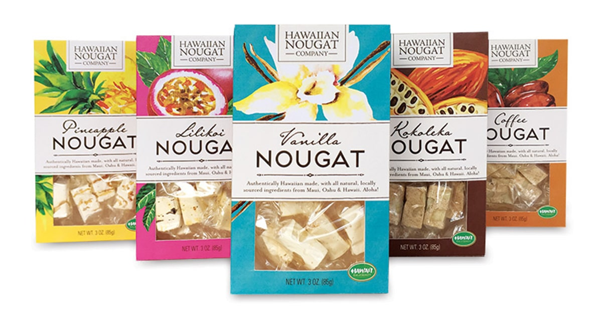hawaiian nougat co gourmet nougat