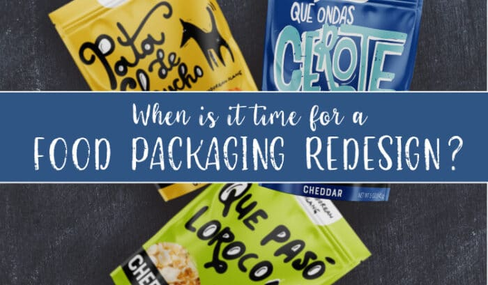 When is it time for a food packaging redesign?