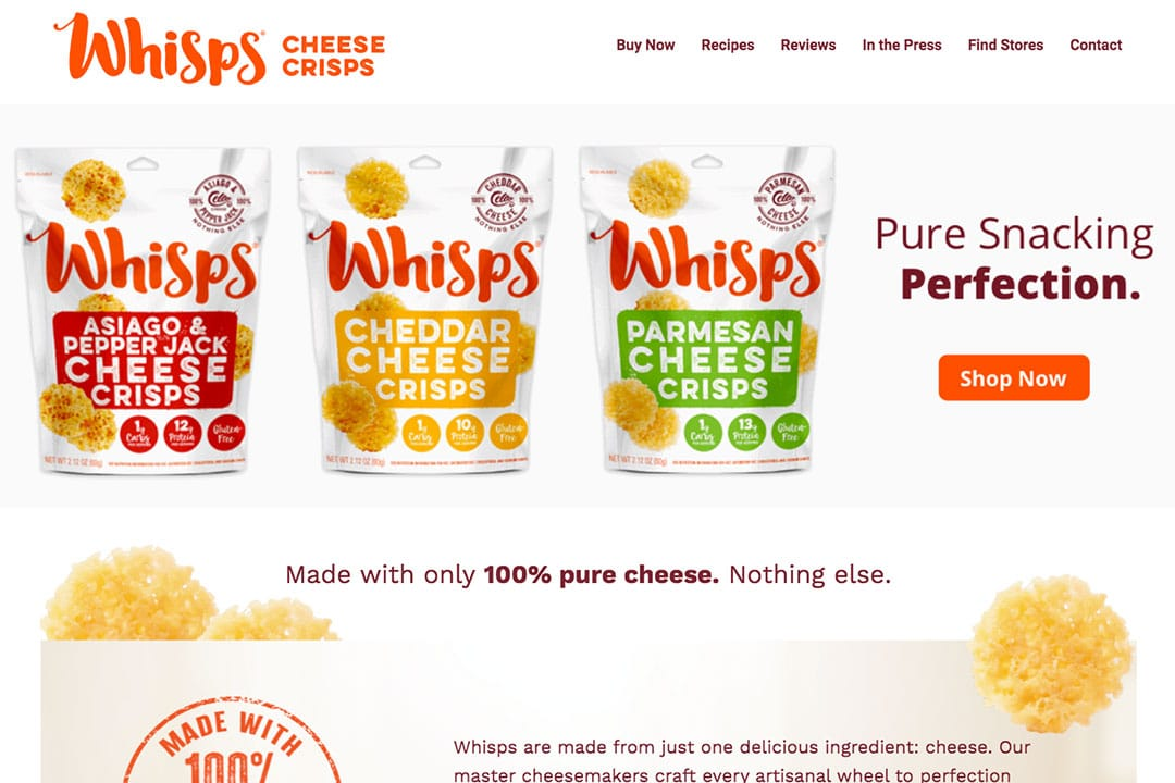 whisps-food-website-design-featured