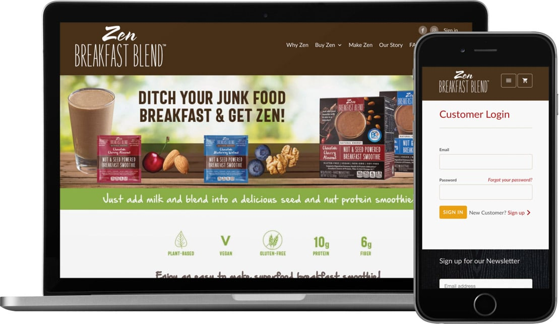zen-breakfast-blend-food-website-design-2