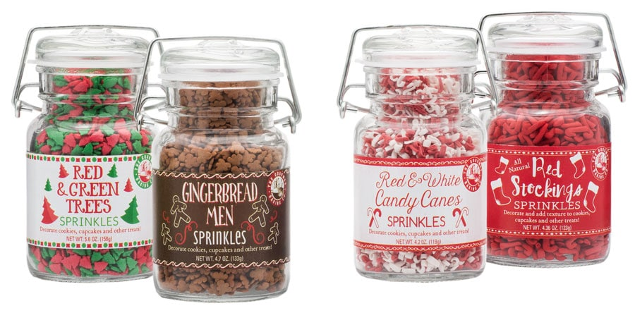 christmas winter sprinkles candy design