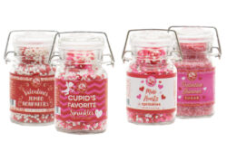 valentines candy sprinkles design