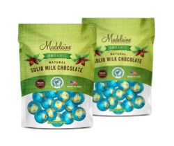 gourmet chocolate candy design pouch