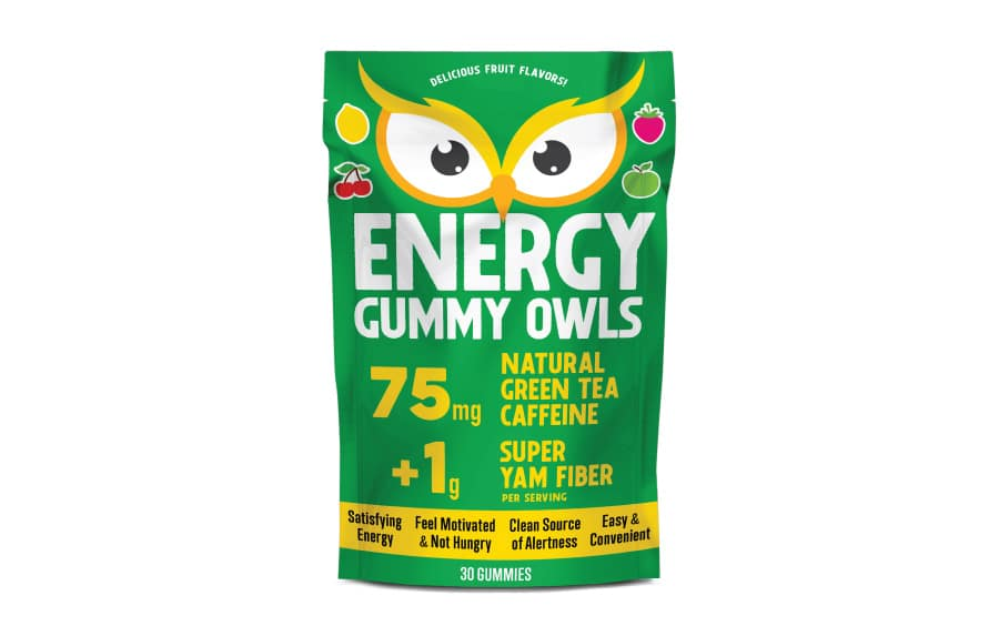 energy gummy owls