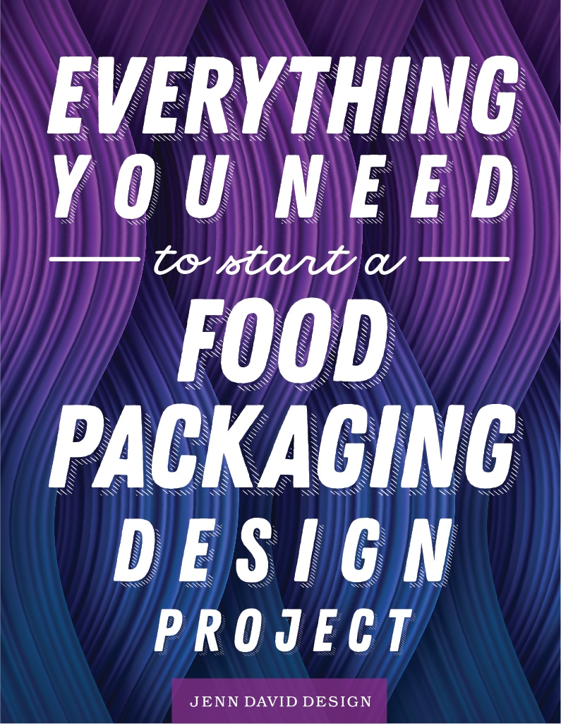 food product packaging design project