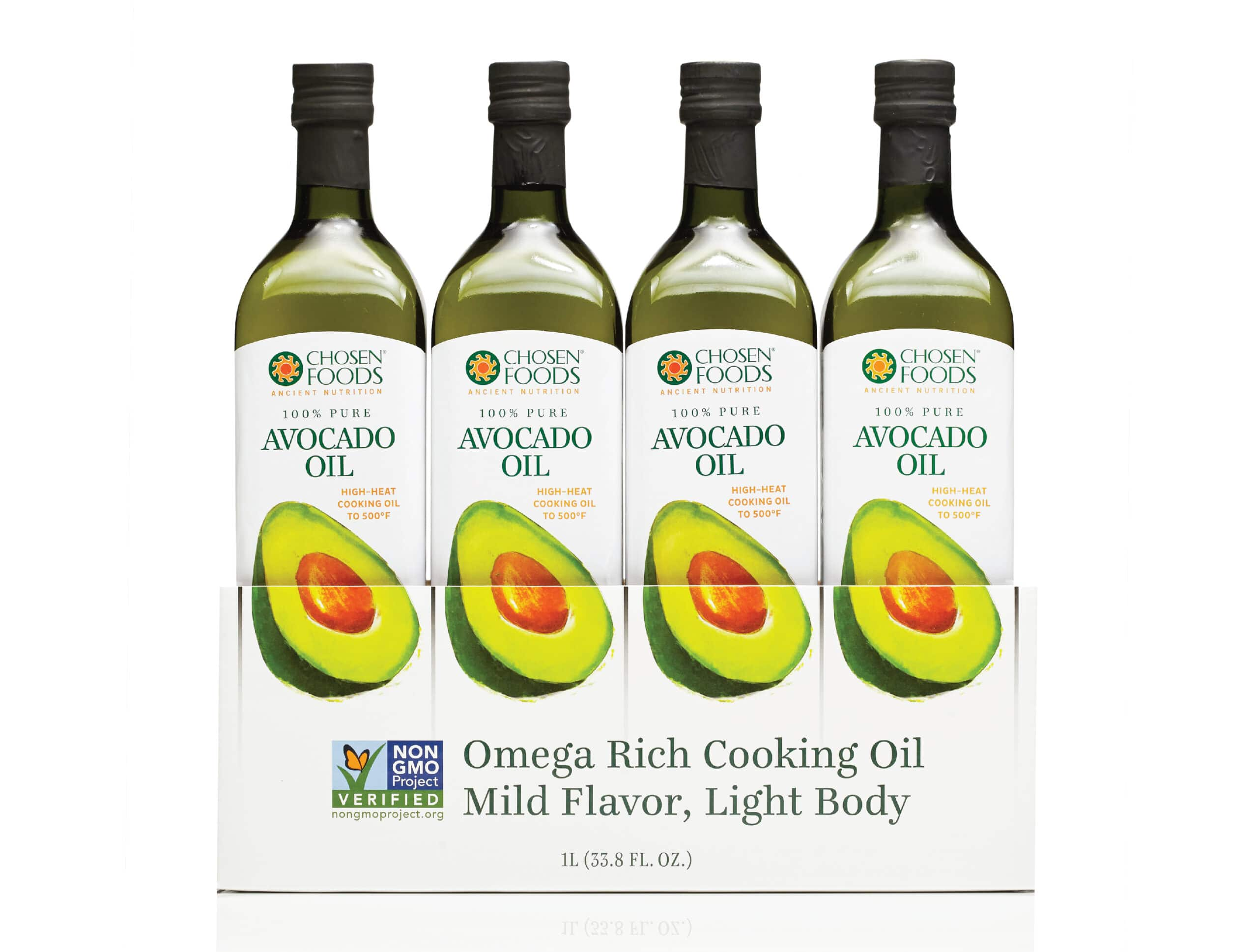 Avocado Oil Packaging Design