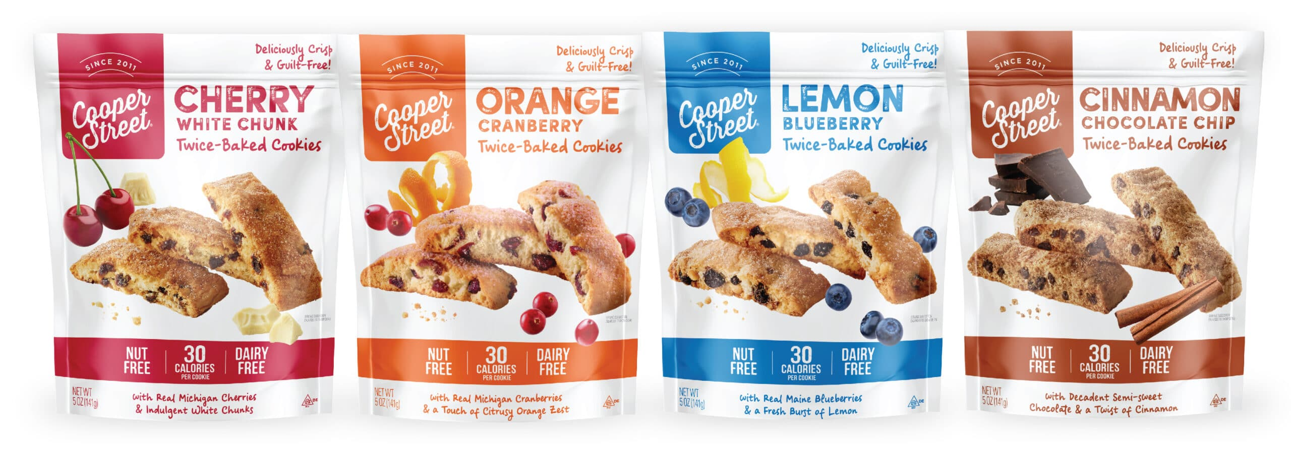 Cookies Pouch Packaging Design